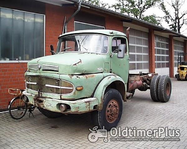 Daimler Benz Hauber LAK 1620 LAK Kipper Foto 1