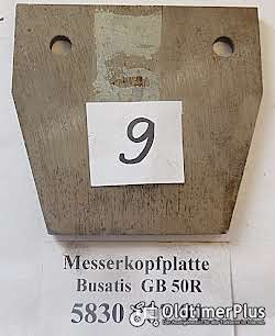 Busatis, Mähwerk, Ersatzteile, Teile, Messerkopf, Messerführung, Umlenkung Foto 8