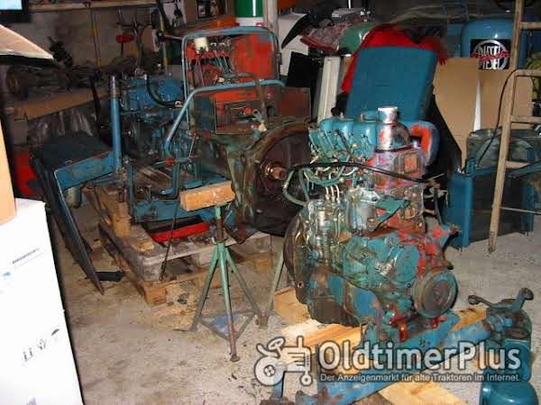 Hanomag Granit 500 / 1 in Teilen zu Verkaufen Foto 1