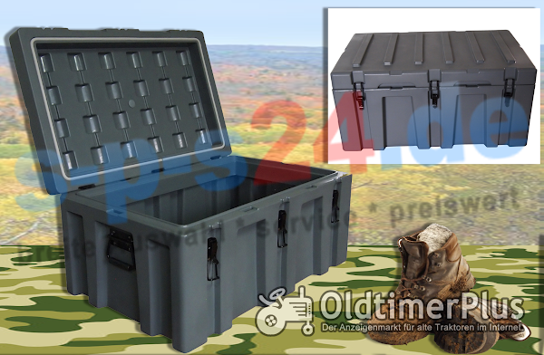 Outdoor robuste Transportbox Transportkiste Box Kiste 150 Liter   wasserdicht Foto 1