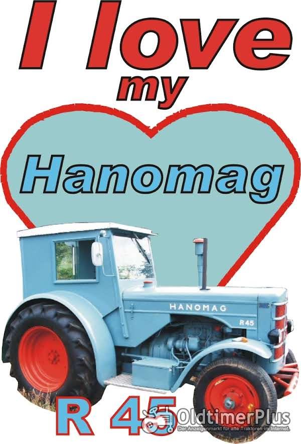 I love Hanomag R 45  T-Shirt Foto 1