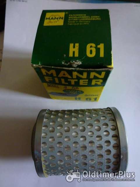 MANN H61 2 Ölfilter  Foto 1