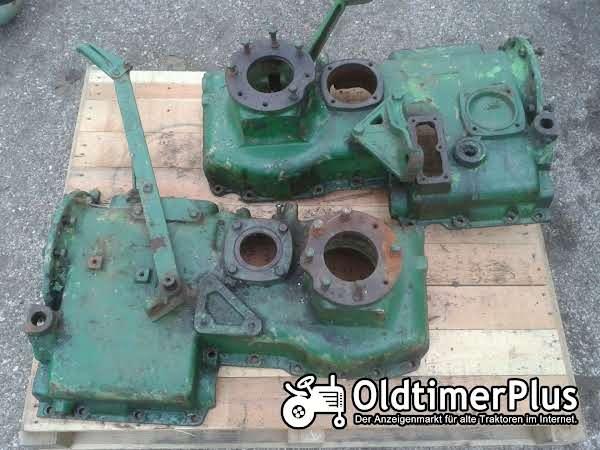 Deutz  F2L612 Geteiltes Getriebegehäuse Foto 1
