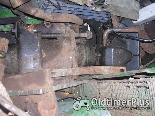 Deutz F2M315 /417 usw. Anhängerkupplung Foto 1
