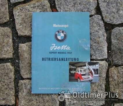 Betriebsanleitung BMW Isetta Export 1957 Foto 1