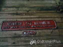 Lanz Heinrich  Dreschmaschine mit Presse Foto 6