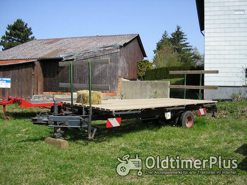 Ballenwagen-Holzwagen Foto 1