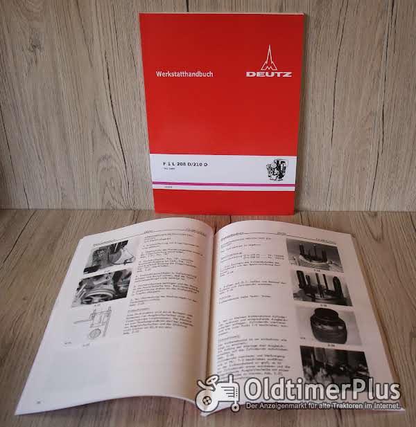 Deutz Werkstatthandbuch Motor F1L208D FL 210D Foto 1