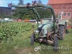 Fendt Farmer 2 mit Frontlader Foto 2