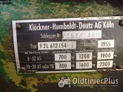 Deutz F2L 612 /54 Schnellläufer 10 Gang Getriebe Foto 2