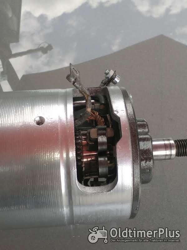 Bosch 6 volt 50 A VW TYP 3 - BOSCH Gleichstrom Lichtmaschine generalüberholt  Foto 1