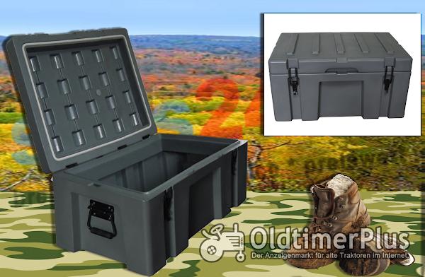 Outdoor robuste Transportbox Transportkiste Box Kiste 70 Liter | wasserdicht Foto 1