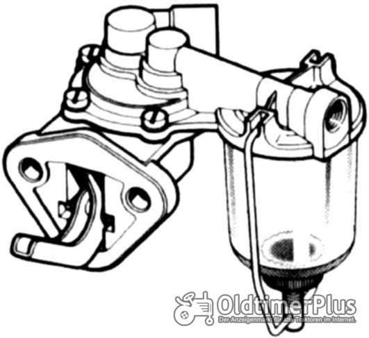 Massey Ferguson Kraftstoffförderpumpe Foto 1