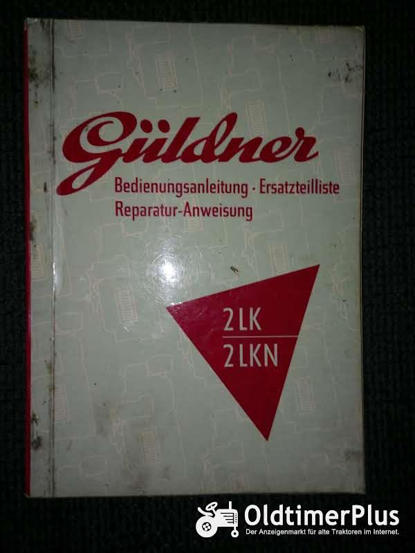 Güldner 2LK 2LKN Bedienungsanleitung Ersatzteilliste Reparatur-Anweisung Foto 1