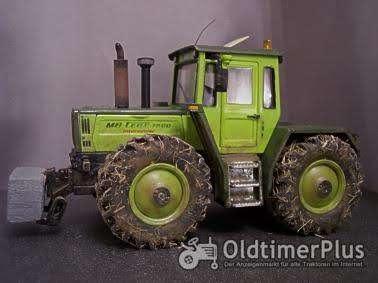 MB Trac 1800 intercooler Traktor 1:32 Umbau Foto 1