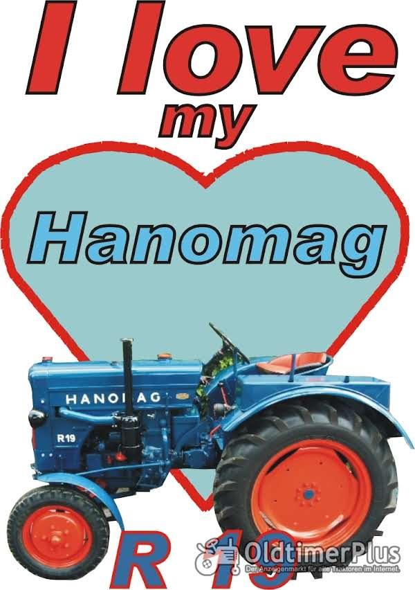 I love Hanomag R 19  T-Shirt Foto 1