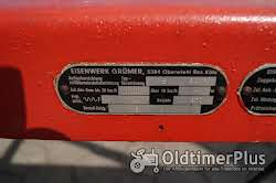 Eisenwerk Grümer Planwagen - Anhänger – Einzelstück – Typ DB 8000 – DB 80 Foto 10