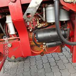 IHC 633 Frontlader Hyd. photo 4