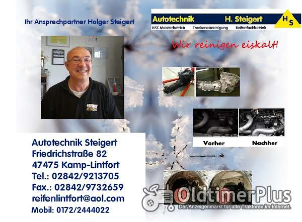 Trockeneisreinigung KFZ Oldtimer Motor Unterboden Foto 1