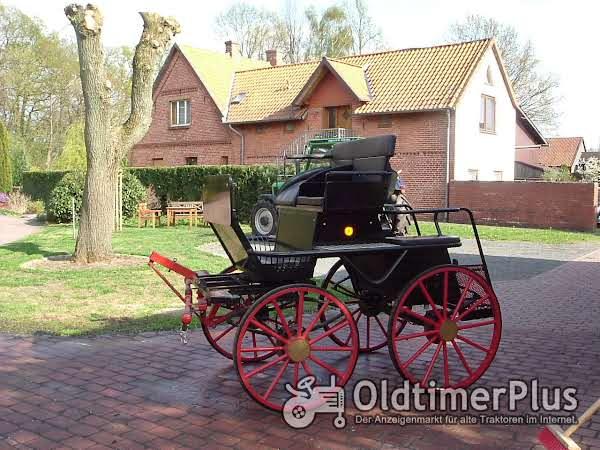 """Pferdekutsche """"Marathon - Wagen"""" top Zustand Foto 1"""