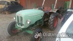 Kramer Traktor KL 300 mit 2 Zylinder Luftgekühlten Deutz Dieselmotor Foto 2