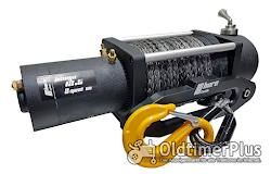 12 volt Seilwinde 5,9 to 2 Gänge | 7 PS Series Wound Motor Foto 4