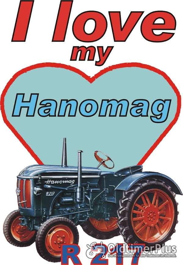 I love Hanomag R 217  T-Shirt Foto 1