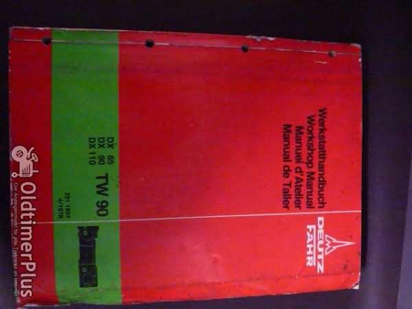 Deutz Werkstatthandbuch Getriebe DX85,90,110 - TW90 Foto 1