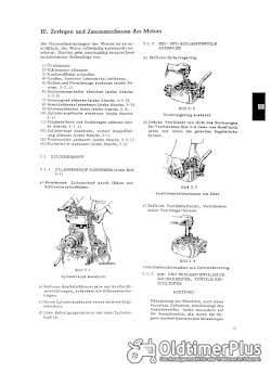 Fendt Normag MWM KD15 KD215 KD KDW 415 KDW 615 Montage - Reparatur Anleitung Foto 2