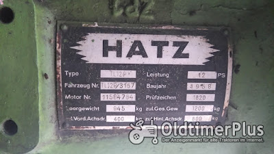 Hatz TL 12 P - 3167 photo 5