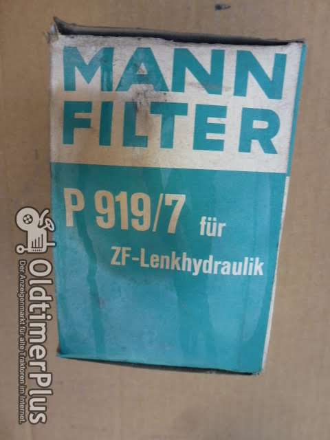 MANN P919/7 Filter Holder AG 3 ZF-Lenkhydraulik Foto 1