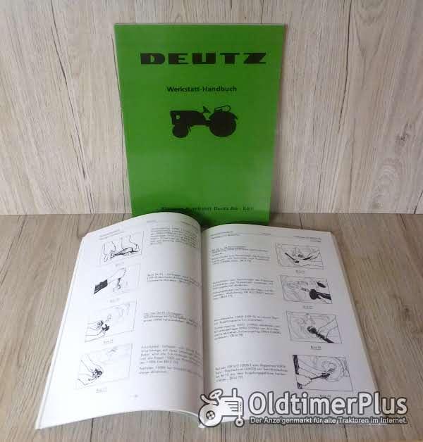 Werkstatthandbuch für Deutz Schlepper FL514 FL612 FL712 Foto 1