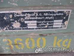 Fendt Brückenwagen Foto 2