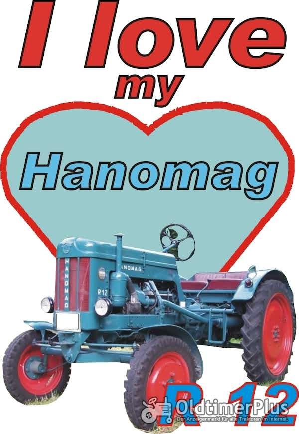 I love Hanomag R 12  T-Shirt Foto 1