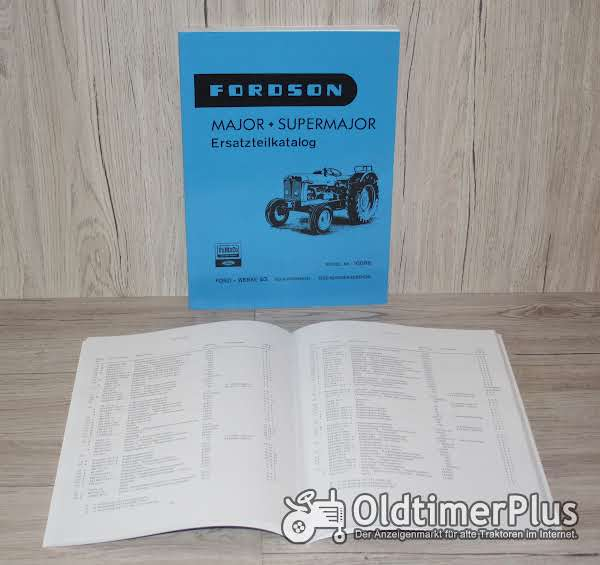 Fordson Ersatzteil Katalog Major und Supermajor Foto 1