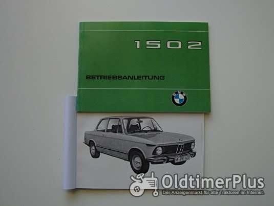 Betriebsanleitung BMW 1502 02er 1975 Foto 1