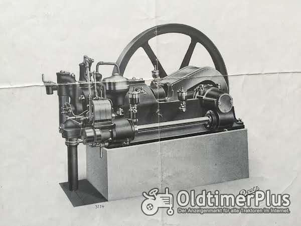 Deutz Gas-Motor / Typ E 20 / Jahrgang 1912 Foto 1