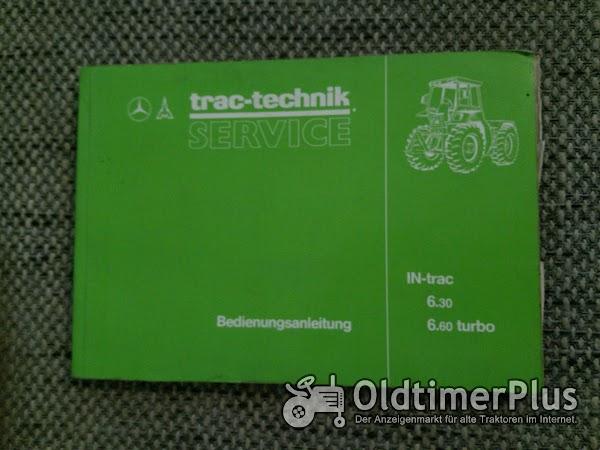 Deutz IN-trac 6.30 6.60 Bedienungsanleitung Foto 1