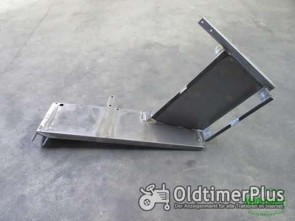 MB Trac 700 800 900 (1000, 1100) Kotflügel vorne 2-stufig 300mm breit Seitenschaltung Foto 1