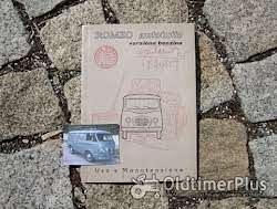 Betriebsanleitung Barkas Framo V901 /2 Kleinlieferwagen 1960 Foto 6
