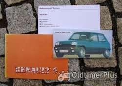 Betriebsanleitung Renault R5 TR GTR GTX Turbo Baccara 1985 Foto 6