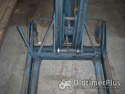 Montagehebegerät, mobil, mit Hydraulikzylinder Foto 3
