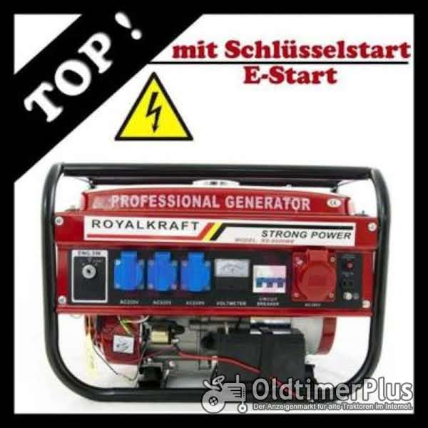 Stromerzeuger Stromgenerator Notstromaggregat mit E-Start OVP Foto 1