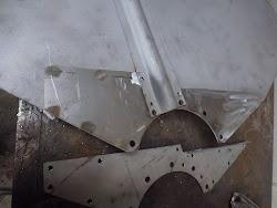 Hanomag R Serie Kotflügelverstärkungsblech Foto 4