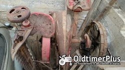 Mähmaschine mit Getreide Ablage, komplett Mähmaschine mit Getreide Ablage, komplett Foto 2