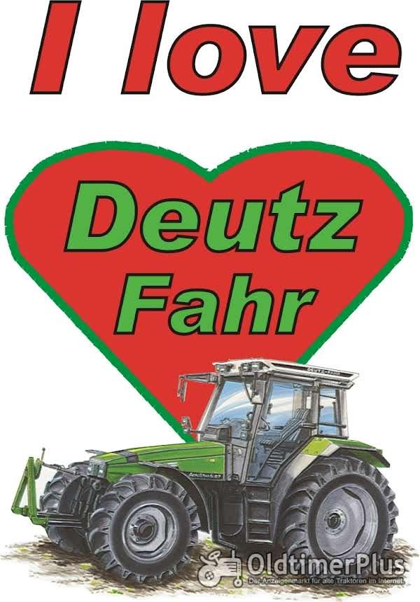 I love Deutz Fahr Agro T-Shirt Foto 1