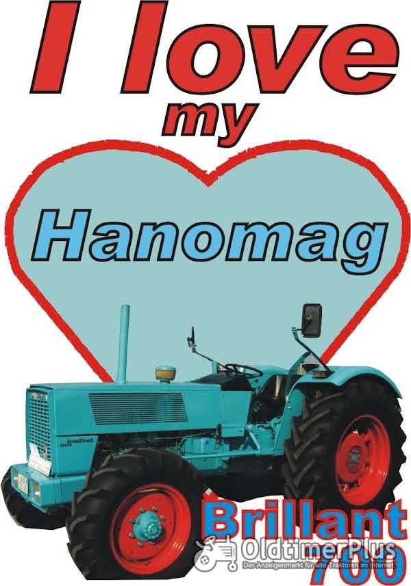 I love Hanomag Brillant 700  T-Shirt Foto 1