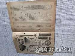 Ersatzteilliste kartoffelroder: 'Neu-ideal'und 'Rekord' 1934 kuxmann Foto 2