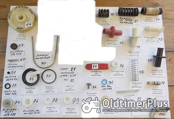 Holder Feldspritze, Armatur, Spritzgestänge, Ersatzteile, Sortiment C Foto 1
