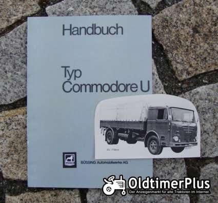 Betriebsanleitung Büssing Commodore U 1966 Foto 1